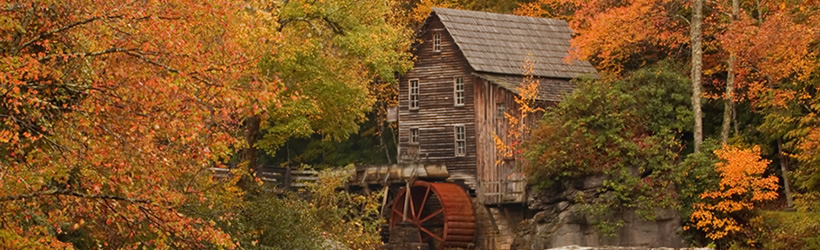 Glade Creek Mill in Babcock State Park